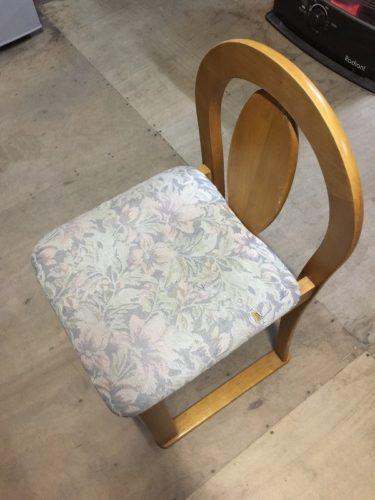 椅子のカバーリング