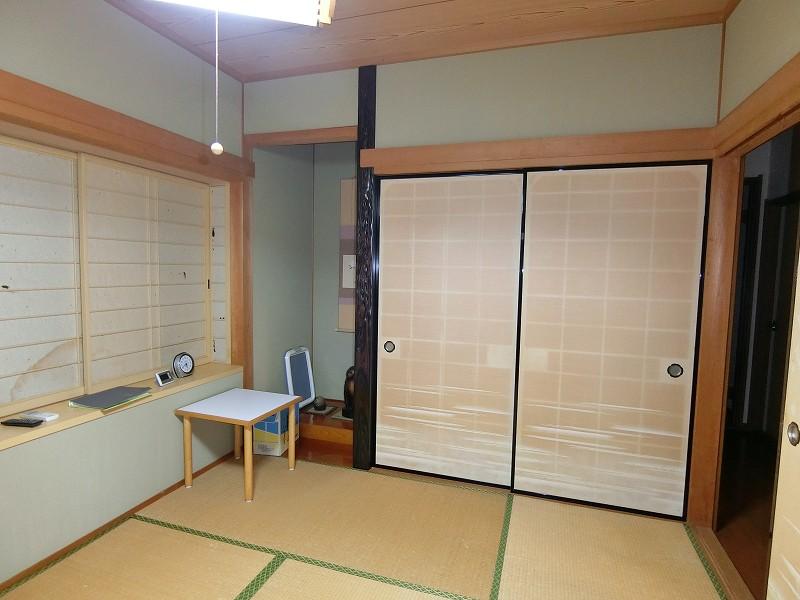 和室のリフォーム施工前の画像