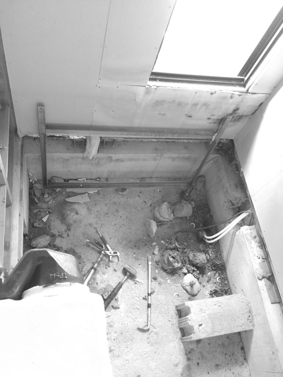 浴室リフォーム施工前の画像