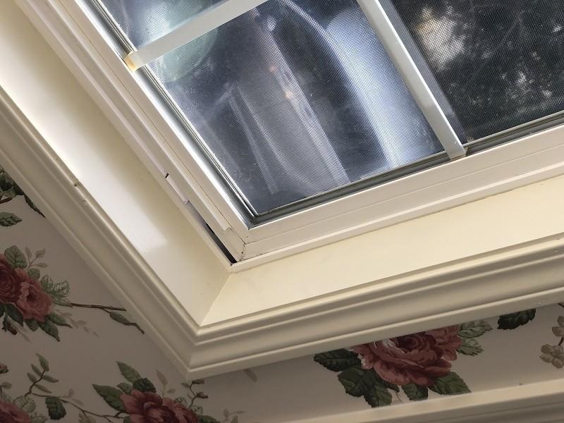結露や日焼けにより劣化した窓枠をリフォーム施工後の画像